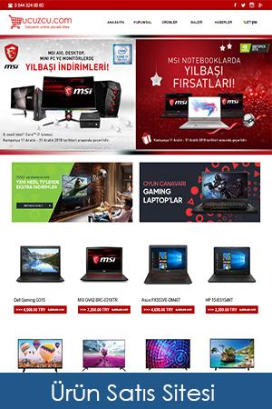 hazır alışveriş, eticaret, ürün tanıtım sitesi