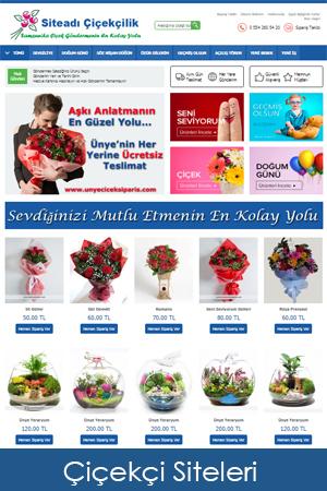 hazir çiçekçi siteleri web tasarımı