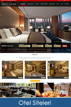 hazır otel siteleri